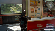Radio in Taelpar Rest Area Diner in FFXV