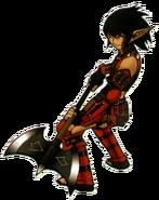 Warrior FFXI Ikeda Icon