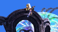 Yuna in Floating Ruins