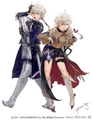 FFXIV Alphinaud and Alisaie Artwork