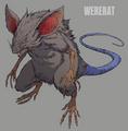 Wererat artwork for FFVII Remake