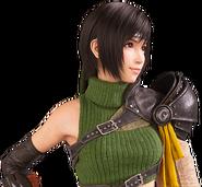 Yuffie Kisaragi from FFVII Remake bust render