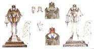 12b-goddess statue