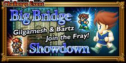 Big Bridge Showdown's global release banner.