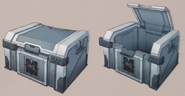 Treasure chest artwork for FFVII Remake