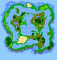 FF3 Floating overworld