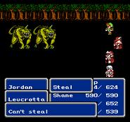 FFIII NES Steal