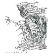Insect Man FFV Art (unused)