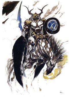 Arte de Odin por Yoshitaka Amano.