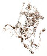 Dragoon FFXI Ikeda Art