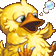 FF4 PSP Fat Chocobo Portrait