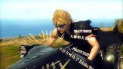Final fantasy 7 advent children ending credits