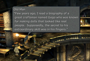 Man in Daguerreo talks about Gogo from FFIX Remastered.png