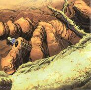 Mountain Path FF9 Art 6