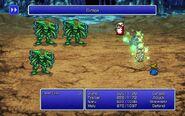 WHM using Curaga from FFIII Pixel Remaster