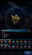 FFBE Magitek Armor Analyze