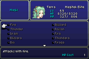 FFVI GBA Abilities Menu 4
