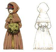 Noblewoman FFIX Art 4