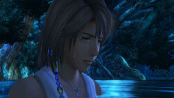 Yuna crying in Macalania Spring.jpg