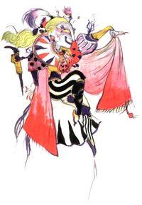 Кефка (рисунок Ёситаки Амано)