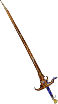 Final Fantasy II Blood Sword in Dissidia Final Fantasy.