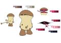 Episode 1 monster palette concept for Final Fantasy Unlimited