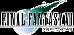 The Final Fantasy VII logo.