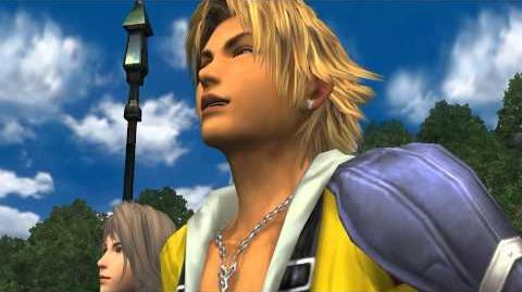 Final Fantasy X laughing scene