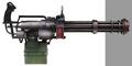 Avalanche heavy machine gun artwork for FFVII Remake