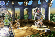 Desert Star atop the harp from FFIX Remastered