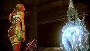 FFXIII-2 Serah confronts Caius