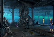 First underwater floor of Deep Sea Research Center from FFVIII R