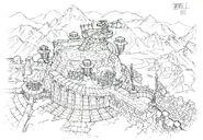 Lindblum Castle Observatory FF9 Art