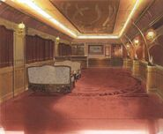 Timber Train President's Cabin FFVIII Art