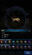 FFBE Wolf Analyze