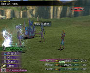 FFX-2 Holy Water