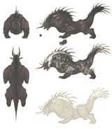 Behemoth FFXIV Art 1