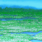 FFII GBA Swamp Battle Background.png