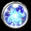 FFRK Truespell Freezing World Icon