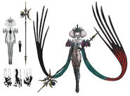 FFXIV Scathach concept