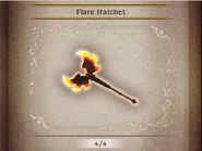 Bravely Default Flare Hatchet