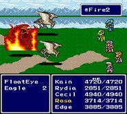 FFIV SNES Fire2
