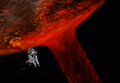 Lunar Cry in space from FFVIII Remastered