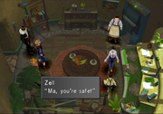 Zell finds Ma Dincht during Balamb liberarion from FFVIII R.png
