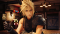 Cloud drinks Tifas cocktail from FFVII Remake