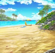 FFBE Sun Sand and Sea BG