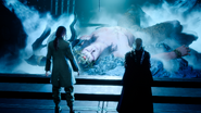 Ardyn Ifrit and Verstael in FFXV Episode Ardyn