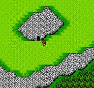 FFII NES Mysidian Cave WM