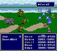 FFIV SNES Cure2