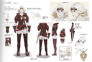 FFXIV Young Cid concept